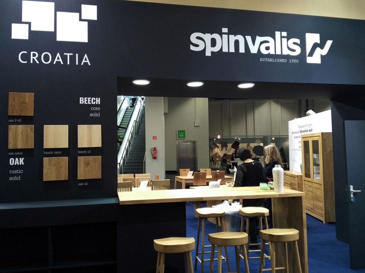 Spin Valis na Die internationale Einrichtungsmesse